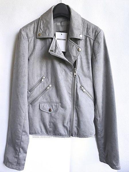 Куртка косуха из искусственной замши 34 аsos design