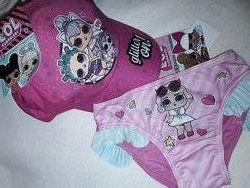 Летний комплект на девочку 2-6 лет, плавки и кепка, качественный набор лето