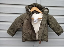 Hm H&M новая куртка курточка зимняя детская дитяча парка пуховик 80 86