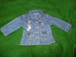 джинсовый пиджак на 18-23мес