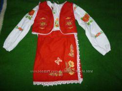украинский костюм на 3-6 лет