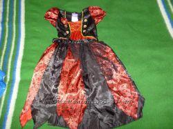 Платье пиратки на 7-8 лет