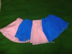 шифоновая юбочка для танцев на 6-9 лет, разные цвета