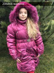 Зимняя курточка от 8 до 12 лет разные размеры