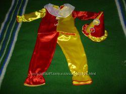 карнавальный костюм петрушки, скомороха  4-6 лет