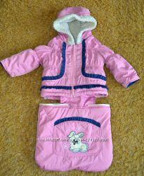 Куртка комбинезон - тройка зимний на овчине