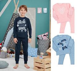 Пижамы для девочек и мальчиков с манжетом
