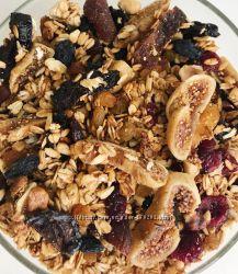 Очень вкусная ГРАНОЛА с орехами и сухофруктами