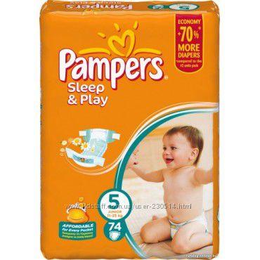 Подгузники Pampers Sleep&Play 5