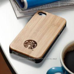 Купить чехол для iPhone дешево Starbucks  VICTORIAS SECRET
