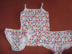 Качественные детские комплекты Diorella маечка, трусы, шорты. Цена СП.