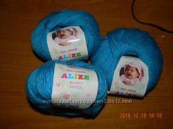 Пряжа для вязания Беби вулл Ализе