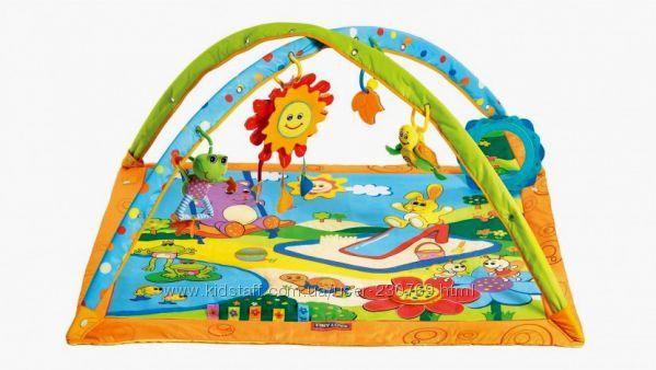 Развивающий коврик Tiny Love Тини лав Gymini Sunny Day в отличном состоянии