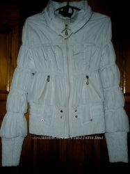 Белая курточка размер 44-46