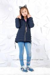 Стильные деми куртки парки для девочек GRACE