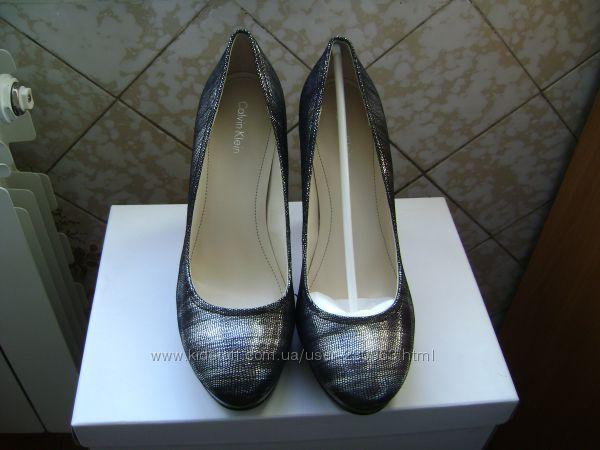 Туфли кожаные Calvin Klein