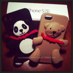 Забавные чехольчики бренд  MOCSHINO для Iphone 5S