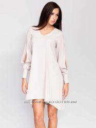 Платье GUARDI 46р. светло-серое