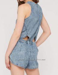 Комбинезон под джинс из вискозы с&a, германия, на грудь до 92 см.