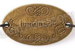 127 Шармики - пластины Hand-made, бронза, цена за 1 шт.