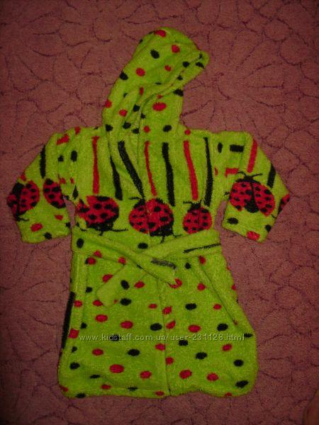Продам красивый махровый халатик для вашей принцессы 2-3 лет