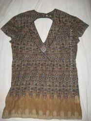 Шифоновая туничка блуза новая