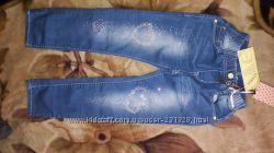 Новые джинсы 122р