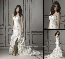 Свадебное платье фирмы Justin Alexander молочного оттенка