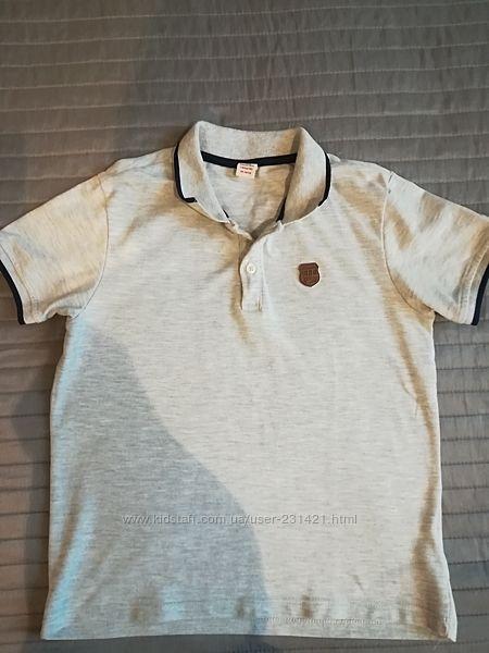 Продам футболку- поло Waikiki, б-у, р. 122-128