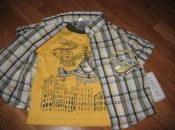 Костюмчики, футболочки и шорты на лето для мальчика . Новые
