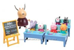 Peppa Pig-Свинка Пеппа. Набор Школа c 7 Фигурками  Англия Оригинал