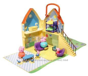 Peppa Pig - Свинка Пеппа. Набор Дом с семьей Пеппы -вся ...