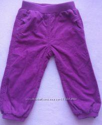 Вельветовые штанишки на подкладе