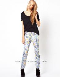Pieces стильные новые джинсы известного британского бренда