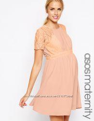ASOS Беременным и не только брендовое стильное платье из Англии