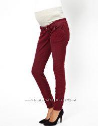 Mamalicious брендовые стильные джинсы для беременных из Англии
