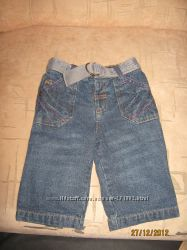 Классные джинсы с ремнем.