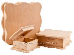 Деревянные заготовки для декорирования - шкатулки
