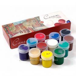 Наборы гуашевых красок Сонет