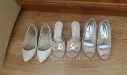 Обувь на лето в бежевых тонах
