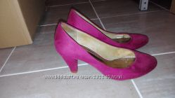 Очень классные и крутые туфли ZARA. Цвета морсала.