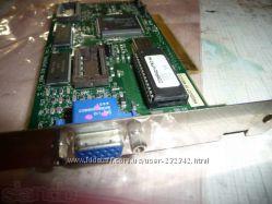 Видеокарта Compaq NITRO 64V 1. 1 PCI, НОВАЯ