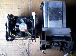 Кулер для процессора s478 Box Intel, алюминий, бу