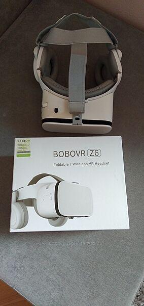 Окуляри Віртуальної Реальності Білі Bobo VR Z6 Оригінал