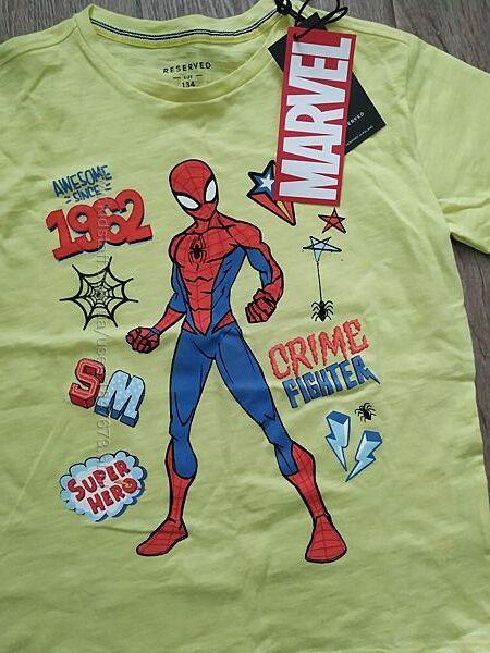 Футболка Марвел человек паук хлопок