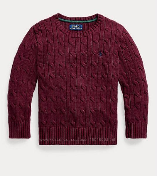 Вязаный свитер для мальчика Polo Ralph Lauren