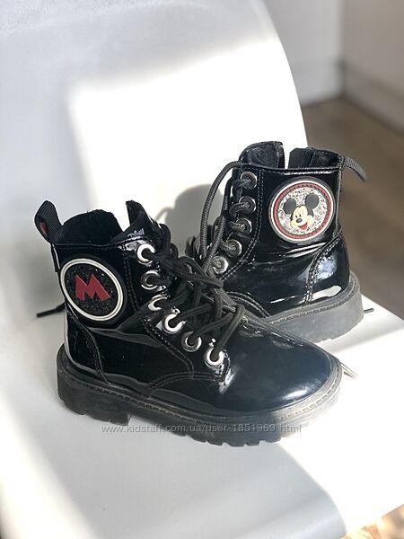 Лаковые ботинки Zara