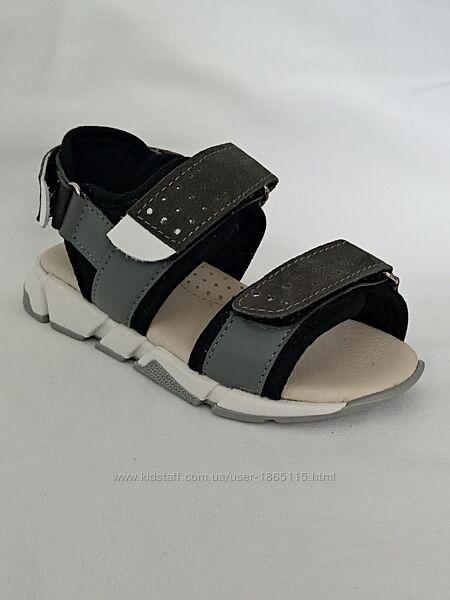 Босоножки для мальчика Cliff кожаные сандалии