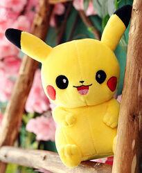 Мягкая игрушка Пикачу 25 см Покемон Pokemon