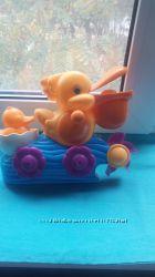 пеликан для водных игр в ванной